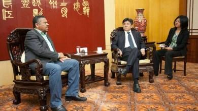 Photo of Valmir se reúne com embaixador da China para tratar do fortalecimento do Brics