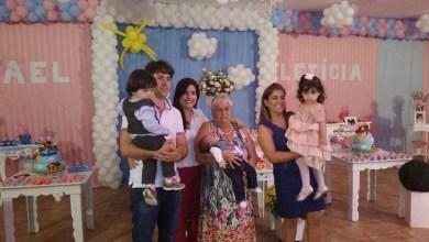 Photo of Social: Márcio e Juliana Perillo comemoram dois anos dos gêmeos Letícia e Rafael em Itaberaba