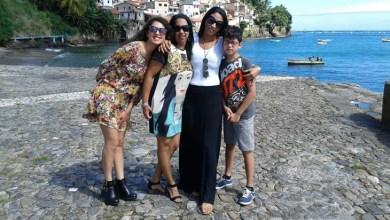 Photo of Social: Pedagoga baiana tieta irmã e sobrinhos que moram na Itália