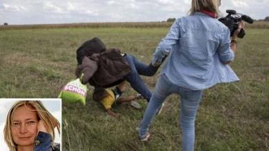 Photo of Xenofobia: Repórter que chutou refugiados sírios diz que não vai pedir desculpas