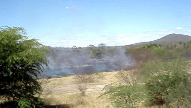 Photo of Chapada: Moradores apagam incêndio no município de Itaetê às margens do Paraguaçu