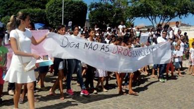 Photo of Chapada: Moradores fazem caminhada pela paz e em combate às drogas em Boa Vista do Tupim