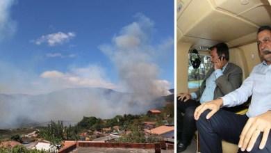 Photo of Rui Costa vai sobrevoar a Chapada Diamantina e debater ações de combate aos incêndios