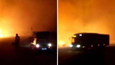 Photo of Vídeo: Incêndio continua na Chapada Diamantina e combate segue nesta sexta