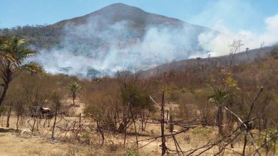 Photo of Chapada: Incêndio criminoso é debelado em Ruy Barbosa e evita tragédia na Serra do Orobó