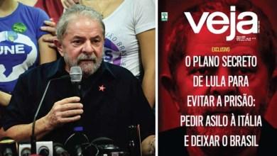 Photo of Embaixada italiana desmente reportagem da Veja sobre suposta fuga do ex-presidente Lula
