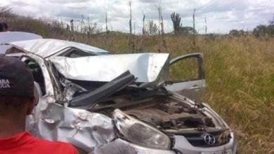 Photo of Bahia: Acidente de carro deixa quatro pessoas feridas na Estrada do Feijão