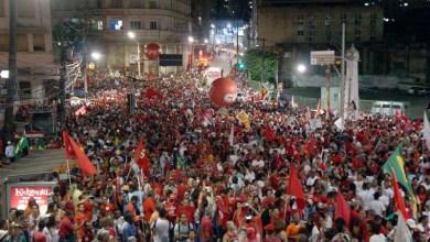 Photo of Passeata pela Democracia reuniu mais de 70 mil pessoas no centro de Salvador
