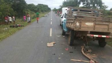 Photo of Chapada: Jovem morre após colidir moto em caminhonete na região de Wagner
