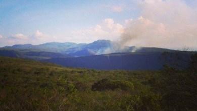Photo of Chapada: Fogo volta na região do Gerais do Rio Preto e ameaça afluente do Paraguaçu