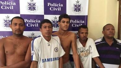 Photo of Bahia: Cinco assaltantes de vans são presos na cidade de Feira de Santana