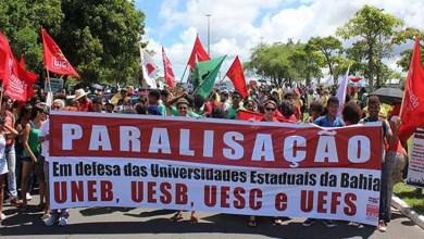 Photo of Manifestantes de universidades estaduais reclamam falta de interesse do governo em negociação