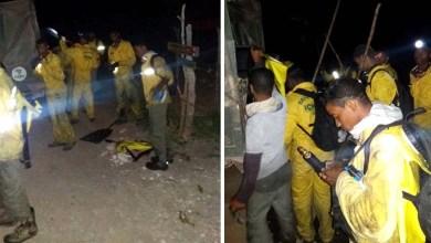 Photo of Chapada: Brigadistas voluntários debelam fogo na região do Gerais do Rio Preto