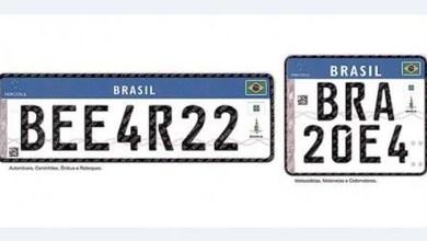 Photo of Brasil: Contran estabelece novo modelo de placas para veículos no padrão do Mercosul