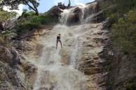 Rapel Cachoeira Véu Noiva Itaitú Foto Rita Barreto Setur