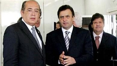 Photo of Gilmar Mendes diz que não se sente constrangido em relatar inquérito de Aécio