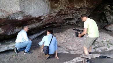 Photo of Chapada: Equipe de TV alemã grava reportagem sobre arqueologia na região
