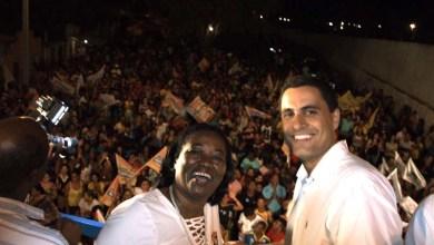 Photo of Chapada: Ricardo Mascarenhas arrasta multidão em caminhada pelas ruas de Itaberaba