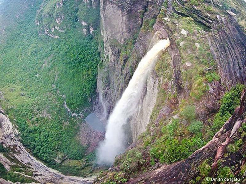 Chapada: Cachoeira da Fumaça entre as cinco mais altas do Brasil; confira  imagens – Jornal da Chapada