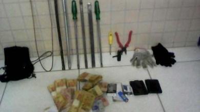 Photo of Chapada: PM prende em flagrante assaltantes que tentaram roubar Correios em Souto Soares