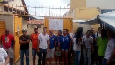 Photo of Chapada: Funcionários terceirizados de colégio em Mairi realizam paralisação