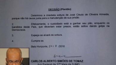 """Photo of Juiz federal usa decisão para protestar: """"Bandidos estão soltos dando golpe na democracia"""""""