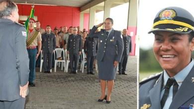 Photo of Primeira mulher a comandar grupamento dos bombeiros na Bahia assume o cargo