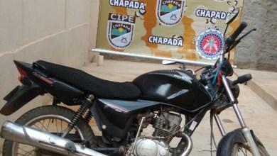 Photo of Chapada: Moto roubada é recuperada pela Cipe-Chapada em Novo Horizonte