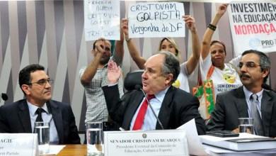 Photo of Favorável ao impeachment de Dilma, Cristovam Buarque é hostilizado no Senado