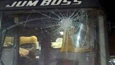 Photo of Chapada: Ônibus do Jacobina é apedrejado em tentativa de assalto na BR-324