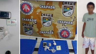 Photo of #Bahia: Cipe-Chapada prende traficante de drogas no município de Riacho de Santana