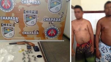 Photo of Cipe-Chapada prende traficantes com armas e drogas na cidade de Itaberaba