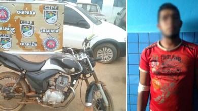 Photo of Chapada: Homem é preso pela Cipe com moto roubada em Iraquara