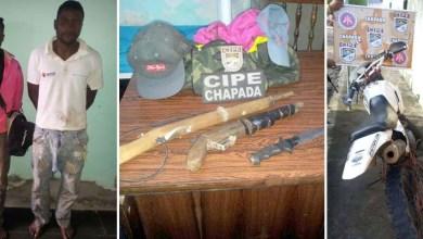 Photo of Chapada: PM prende ladrões após roubo de moto no município de Mucugê