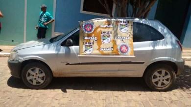 Photo of Chapada: Polícia recupera carro roubado no município de Itaetê