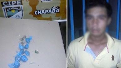 Photo of Bahia: Homem é preso com drogas em Oliveira dos Brejinhos pela Cipe-Chapada