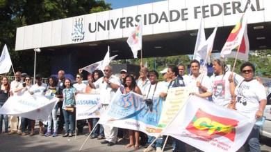 Photo of Servidores da Ufba entram em greve e fecham portões contra PEC 241