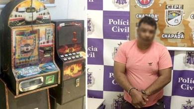 Photo of Cipe-Chapada apreende máquinas de jogos de azar em Utinga e prende homem em Itaberaba