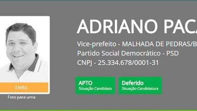 Photo of #Bahia: Vice-prefeito eleito de Malhada de Pedra é preso por fraude que gerou prejuízo de R$ 3 mi