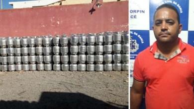Photo of #Bahia: Polícia recuperada carga roubada com mil botijões de gás em Cafarnaum