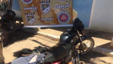 Photo of Chapada: Polícia recupera moto adulterada e prende condutor em Itaetê