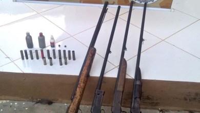Photo of #Bahia: Polícia encontra armas de fabricação caseira na região de Ipupiara