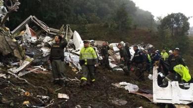 Photo of #Tragédia: Confirmados seis sobreviventes de acidente aéreo com equipe da Chapecoense