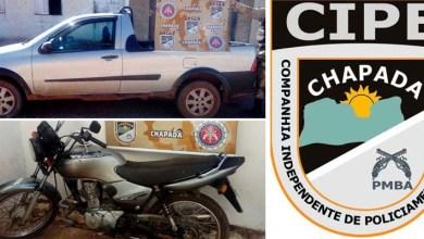 Photo of Chapada: Veículos irregulares são apreendidos pela polícia no município de Ibicoara