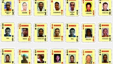 Photo of #Bahia: Polícia já tirou de circulação mais de 60 bandidos do 'Baralho do Crime'