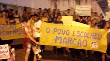 População vai às ruas e clama por Marcão prefeito de Lençóis - FOTO Divulgação