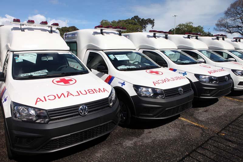 Resultado de imagem para Governo estadual destina 78 ambulâncias a municípios baianos