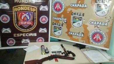 Photo of Chapada: Quadrilha confronta polícia em Itaetê e dois bandidos morrem; armas e drogas são apreendidas