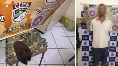 Photo of Chapada: Homem é preso suspeito de envolvimento no assalto a banco em Mairi