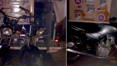 Photo of Chapada: Polícia apreende três motos adulteradas em estrada de acesso a Andaraí